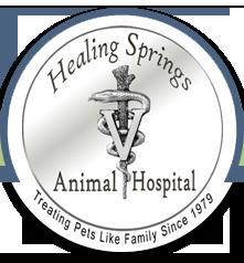 Healing Springs Animal Hospital logo