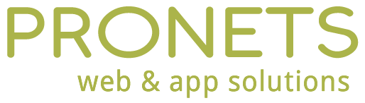 Pronets web and app solutions logo